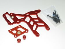 YY-MADMAX HPI KM ROVAN BAJA 1/5 5T 5B REAR ALUMINUM BRAKE TOP PLATE KIT ORANGE
