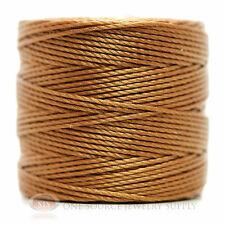 77 Yds. Super-Lon Cord #18 Copper Beading Crafting Stringing Crochet
