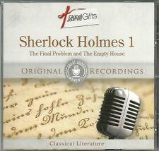 SHERLOCK HOLMES 1 THE FINAL PROBLEM & THE EMPTY HOUSE  - ORIGINAL RECORDINGS CD