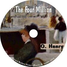 The Four Million, O. Henry Humor Short Stories Audiobook on 5 Audio CDs
