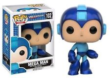 Funko Pop Games Mega Man Vinyl Stylized Action Figure 102 Collectible Toy 10346