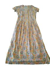 New OILILY WOMENS FLORAL LONG Yellow Dress Size XS SMALL