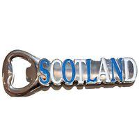 Scotland Flag Fridge Magnet Scotland Letters Bottle Opener Souvenir Scottish Gif
