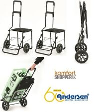 ANDERSEN Confort cabas Châssis Caddie, achats Trolley, achats Roller