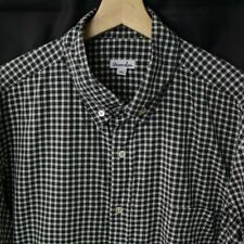 Steven Alan Mens Button Shirt Size XL Long Sleeve Cotton Plaid checks