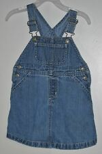 babyGAP Size 2 Years Blue Denim Jumper Dress