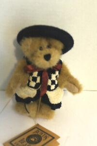 "Boyds Bears & Friends Teddy Bear w/ jointed arms & legs  w tag 6"""