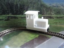 H0f 3D PRINTED DIESEL LOCO BODYSHELL. - FOR THE ROKUHAN Z GAUGE SHORTY CHASSIS.