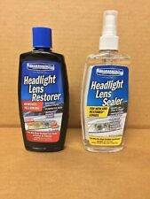 New Blue Magic Headlight Lens Restore and Sealer KIT Free FedEx 2Day!