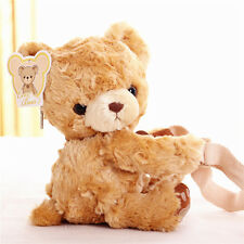 Kawaii Ted Bear Plush Shoulder Cross Body Bag Purse Stuffed soft Toy Doll gifts