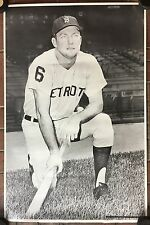 Original Late 60's Early 70's Detroit Tigers Al Kaline 25 x 38 Baseball Poster