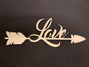 LOVE ARROW - 300mm x 106mm x 3mm