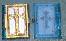 Vintage 1940s Holy Medal / Prayer Book Container GERMANY US ZONE with Cross