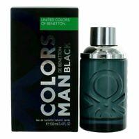 Benetton Color Black by Benetton, 3.4 oz EDT Spray for Men NEW