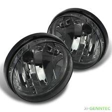 For 07-13 Sierra Smoked Driving Fog Lights Rainy Lamps Left+Right w/Light Bulbs