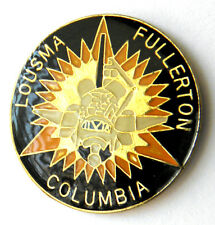 SPACE SHUTTLE COLUMBIA NASA STS-3 COMMEMORATIVE LAPEL PIN BADGE 1 INCH
