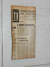 FRANCE FOOTBALL OFFICIEL HEBDOMADAIRE FFF N°370 21/04 1953 1/2 FINALE COUPE