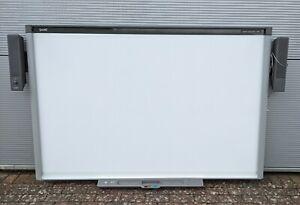 "SMART Board SBX885 87"" inch 16:10 Multi-Touch Interactive Whiteboard + Speakers"