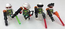 Solo parti originali LEGO - 4 Fantasy Pirati SPAZIALI + Arma-Unit 3-Star Wars