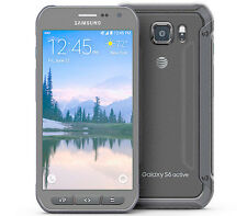 Samsung Galaxy S6 active SM-G890A - 32GB - Gray (AT&T) Android Smartphone GREAT