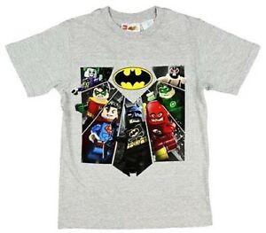 Lego Batman Robin Joker Wyldeside Dc Einzigartig T-Shirt Jungen Größe 10/12
