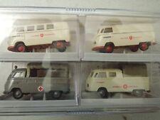 Sonderset 2012 VW T1 Varianten Malteser DRK und Johanniter Ludwigshafen neu