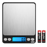Black 1g&3kg_Jewelry Kitchen Digital LCD Electronic Balance Food Weight Scale