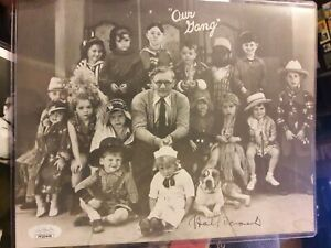 Hal Roach Signed 8 x 10 Black and White Photo with COA