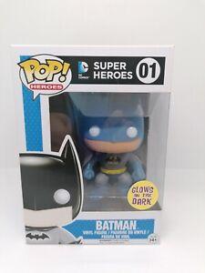 Funko Pop Vinyl - Batman GITD (Play And Collect Lego) RARE *Box Swap*