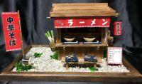 Billy Doll House DIY Showa Yatai Kit Ramen Shop Handmade Miniature Japan 8535