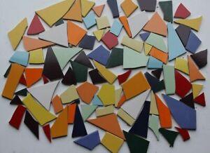 3 kg frostsicherer Fliesenbruch verschiedene Farben- bunt/ blau/ pastell Mosaik