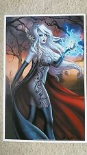super sexy con exclusive lady death art print nearly nude signed