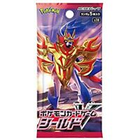Pokemon Trading Card Game, s1H Shield Booster Pack x1 (Japanese)