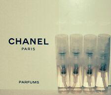 CHANEL - PLATINUM EGOISTE Eau De Toilette:  4 SAMPLE VIALS = 8ml's