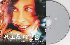CD CARTONNE CARDSLEEVE  ALANIS MORISSETTE EVERYTHING 2T NEUF !!!!