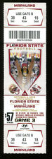 2013 Florida State v Maryland Football Ticket National Champs 15873