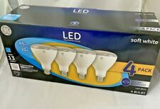 GE LED Light Bulbs BR30 Dimmable Indoor Flood Lights 65W Soft White 4 Pack NEW!