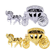 2x Cinderella Carriage Candy Chocolate Boxes Birthday Wedding Party Favor Gift