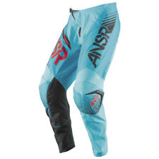"38"" Answer Syncron MX Motorbike Pants Blue/Cyan Red Husaberg $119.95"