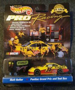 Hot Wheels Pro Racing  : Matt Hutter , Pontiac Grand Prix & Tool Box