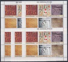 R813. 5x Guinea-Bissau - MNH - Art - Hieroglyphs - 2003
