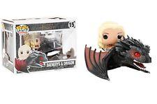 Funko Pop Rides: Game of Thrones - Daenerys & Drogon Vinyl Figure Item #7235