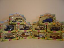 LLEDO, COLLECTION OF 10 MODELS, THE DARLING BUDS OF MAY, YORKSHIRE TELEVISION