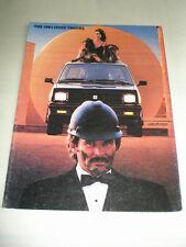 Isuzu Trucks range brochure 1983 USA market
