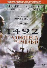 1492 CONQUEST OF PARADISE **Dvd R2 + CD OST** Gerard Depardieu, Sigourney Weaver