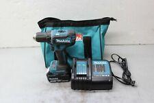 "Makita Xfd13 18V 1/2"" Cordless Drill/ Driver W/1 Battery /Charger & Bag"