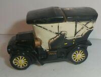 Original Vintage 1960s McCoy Pottery Model T Antique Car Design Cookie Jar