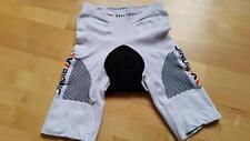 X-Bionic Swiss Engineered Bike Woman Shorts bib w/o pads , White (S)36 ,S9(D)