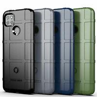 For Motorola Moto G9 Power Shockproof Rugged Armor TPU Case + Screen Protector
