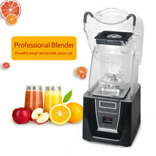 Soundproof cover blender Fruit Ice food Performance Smoothie Juicer Mixer milk